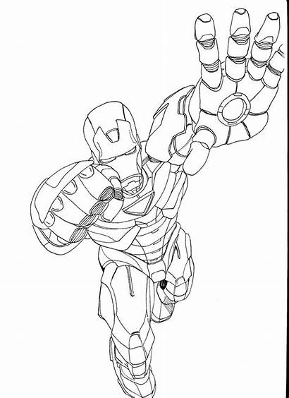 Iron Coloring Pages Printable
