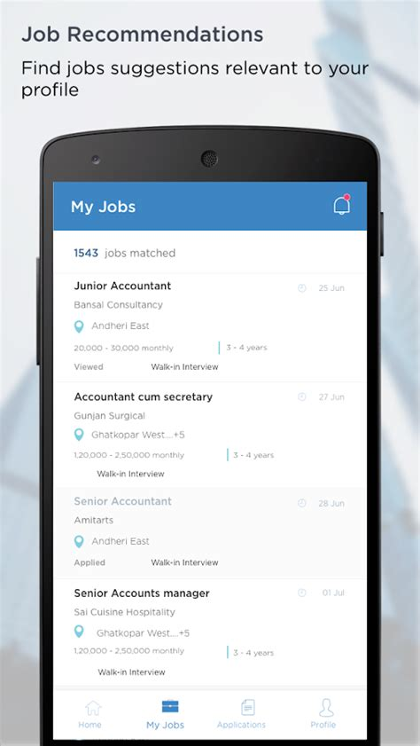 aasaanjobs job search  india android apps  google play