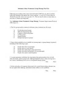 Substance Abuse Group Activity Worksheets