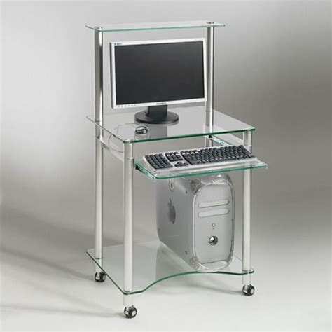 le de bureau originale square deco bureau multimédia compacto verre trempé