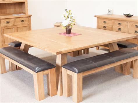 square oak kitchen table country oak 1 8m large square oak dining room table