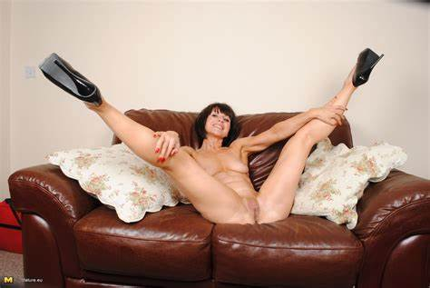 Housewife Emilia Drilled Naughty On The Couch