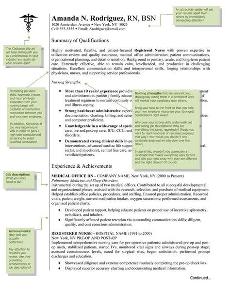 17 best ideas about rn resume on registered