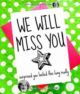 We Will Miss You : we will miss you card leaving card ~ Orissabook.com Haus und Dekorationen