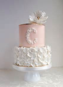 Pink And Brown Baby Shower Cakes