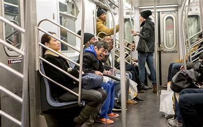 Dildo Guy Subway Giant Downtown Going Sit