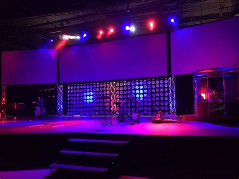 paper plate stage backdrop weleadworshipcom