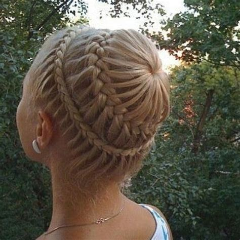 unique braided updo for proms and weddings hairstyles