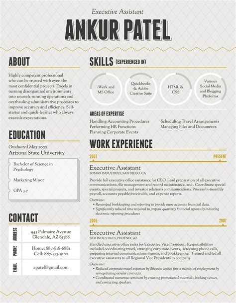 Unique Resumes Exles by How To Make An Infographic Resume
