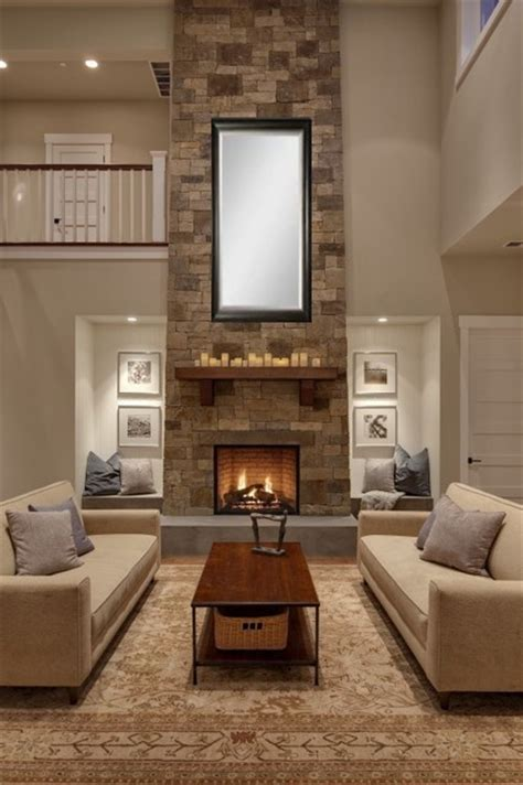 fireplace design ideas traditional living room