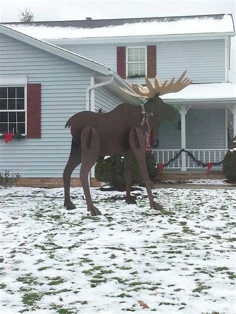 moose lawn ornament best 25 moose decor ideas on moose nursery woodland room and plaid nursery