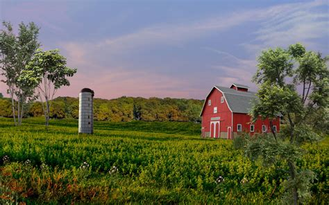 farm landscape pictures frams farms natural landscape wallpapers