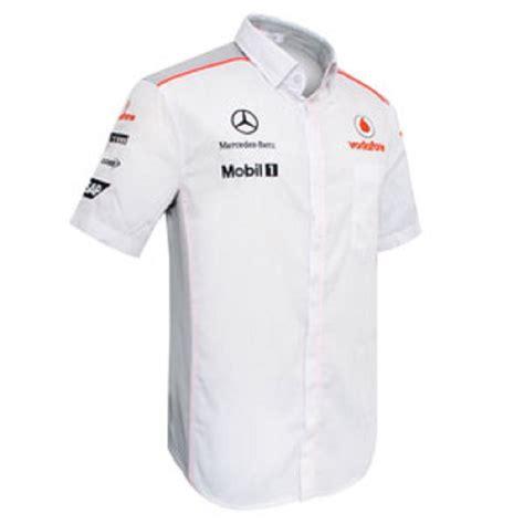 shirt replica teamwear mens formula   mclaren official