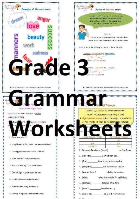 grade  english grammar worksheets  images