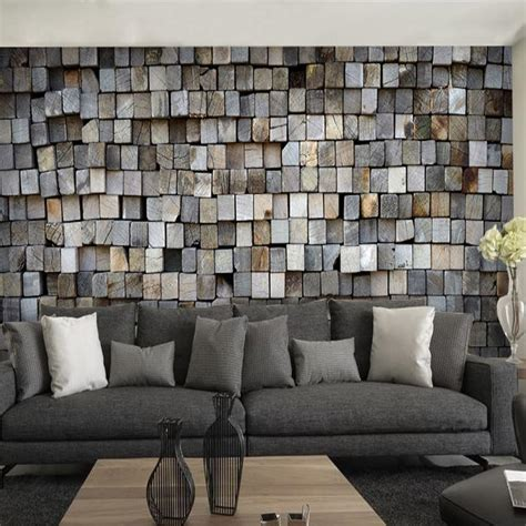 3d Wallpapers For Walls In Karachi by Brick Wall Murals Tea Shop Cafe 3d Wallpaper Background