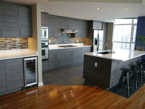 Kitchen Cabinets Refacing Ideas - seattle condo modern kitchen reface