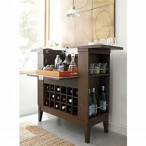 parker spirits bourbon cabinet crate and barrel crate With kitchen cabinets lowes with whiskey wall art