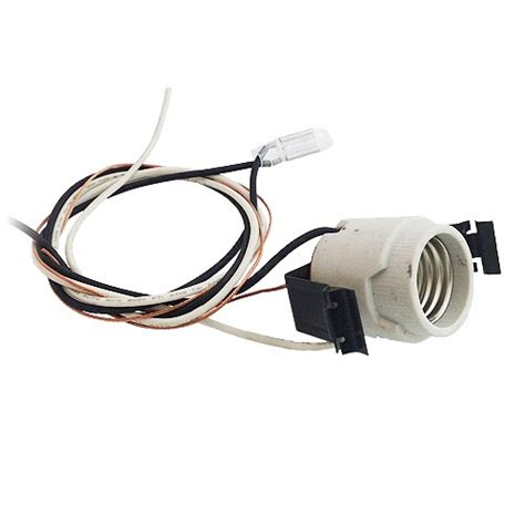 decorative fluorescent light 5 quot recessed lighting socket with pigtail and heat sensor