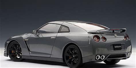 dark gray nissan autoart nissan gt r r35 dark metal gray w matt black