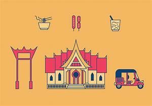 Bangkok Vector Illustrations