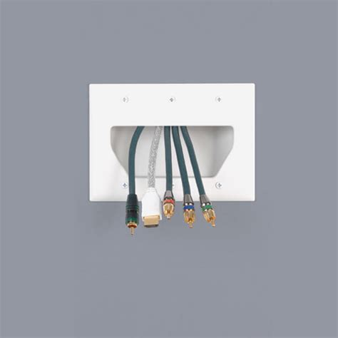 passe cable tv mural cable concealment 101 how to de clutter your home theater system
