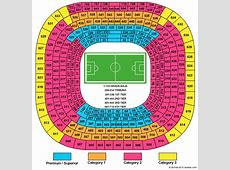 Which is the best seat or stand at the Santiago Bernabeu