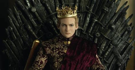 game  thrones joffrey baratheon figure preview