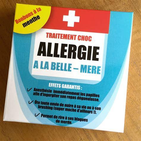 box cadeau cuisine médicament allergie à la mère à 5 95