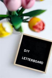 quadratische spruchetafel letter board diy o kathastrophal With diy letter board