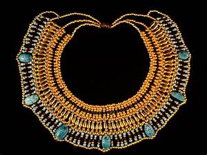 Egyptian Queen Cleopatra Necklace 7 Scarab Halloween by ...