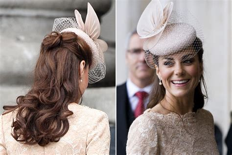 kate middletons  hairstyle moments photo
