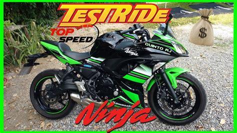 Test Ride+top Speed/valores