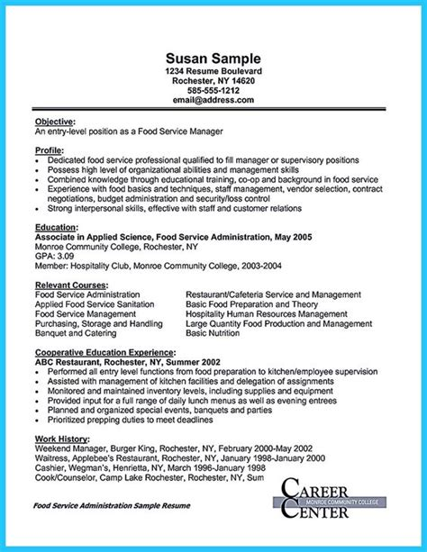 banquet server duties for resume actually not the entire of server require resume for the applicants but preparing great