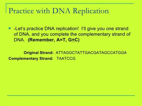 Dna Rna Protein Review