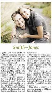 newspaper engagement announcements wording etiquette With wedding announcement templates newspaper
