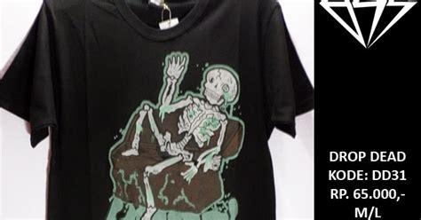 kaos baju t shirt vans surf skate tees kaos baju drop dead t shirt tees