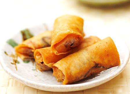 Shrimp pork spring rolls-Chinese healthy recipes for