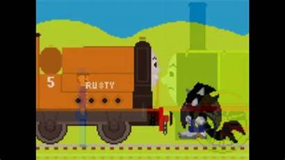 Stepney Bluebell Engine Thomas Sonic Meets