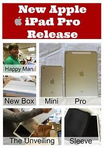 New Apple iPad Pro Release Date