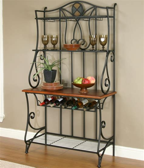bakers rack for dining room baker s rack by cramco inc wolf and