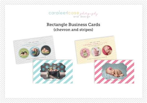 trifol business card template prodpi business cards chevron and stripes 171 caralee case photography