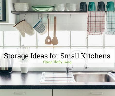 Clever Storage Ideas For Small Kitchens by 19 Clever Storage Ideas For Small Kitchens