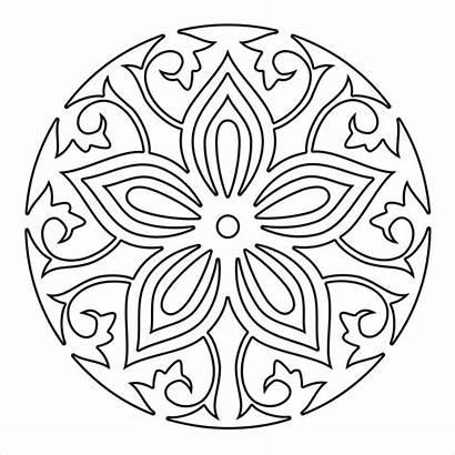 Mandala Coloring Pages Printable Ai Colouring Adults