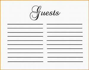 guest book template authorization letter pdf With birthday guest book template
