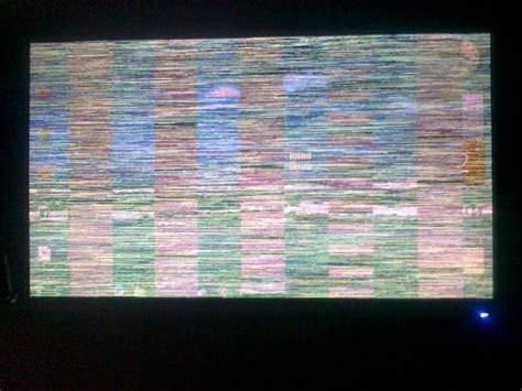 mi compu se tilda  aparecen rayas en el monitor