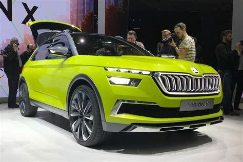 New Skoda Vision X Concept Previews Small Suv  Auto Express