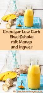Ingwer Zum Abnehmen : mango eiwei shake mit ingwer low carb eiwei di t rezept drinks di t eiwei di t rezepte ~ Frokenaadalensverden.com Haus und Dekorationen