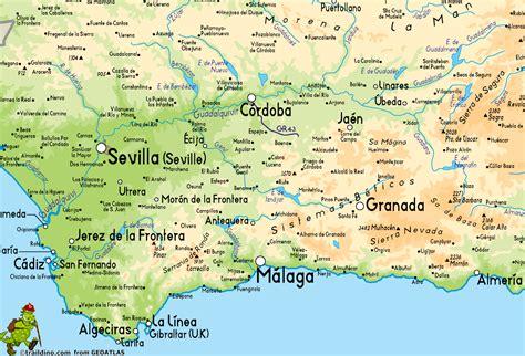 spain map andalucia world map weltkarte peta dunia