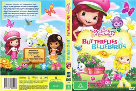 Strawberry Shortcake Butterflies And Bluebirds New Dvd