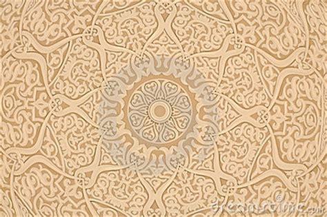oriental arabic decoration royalty  stock